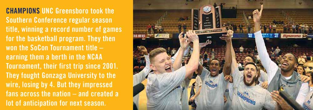 UNCG SoCon Basketball Champs