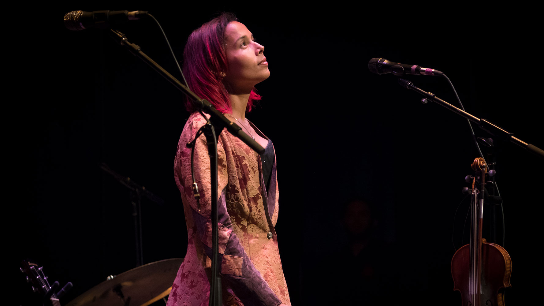 Rhiannon Giddens at Founder's Concert