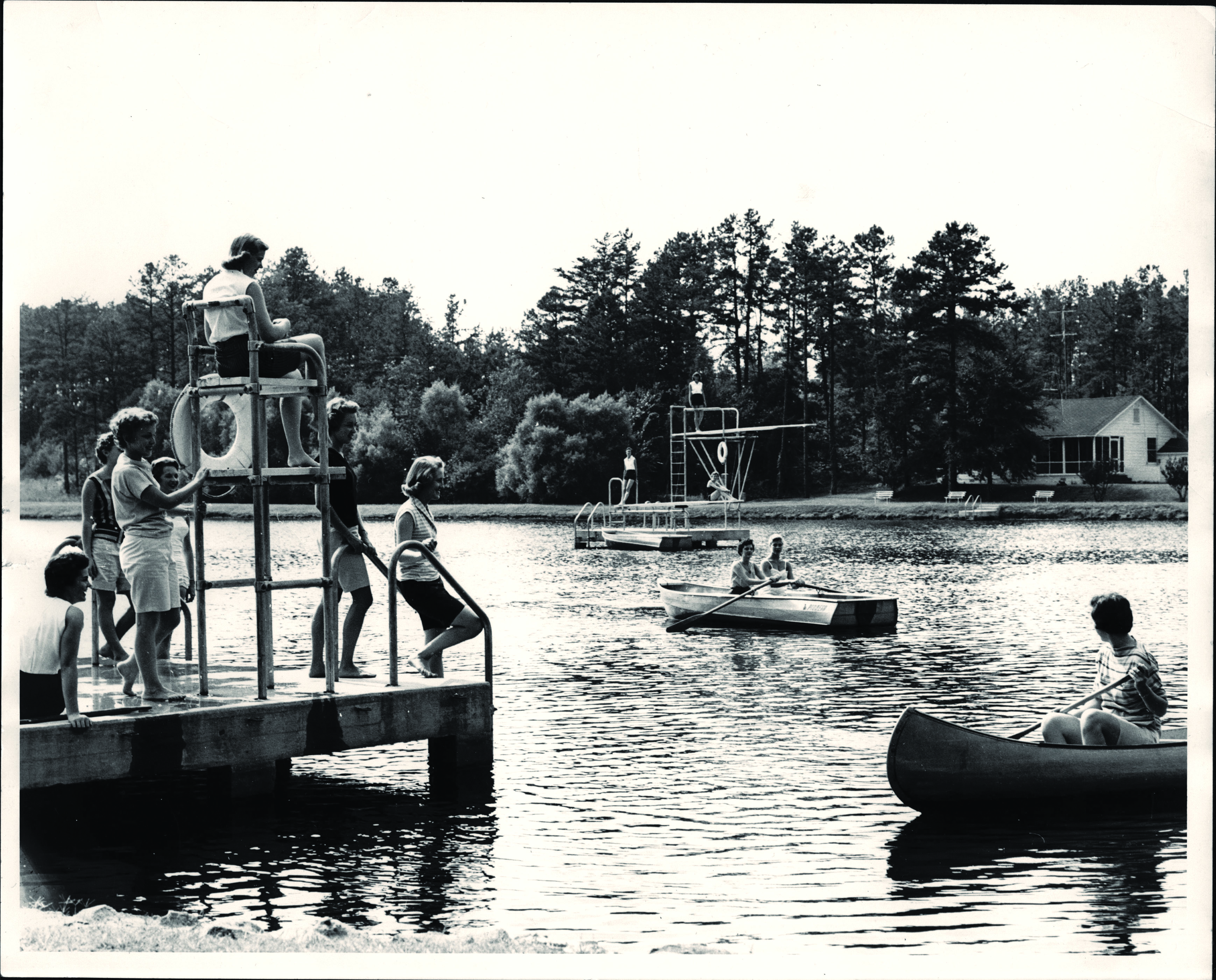 Piney Lake 1956