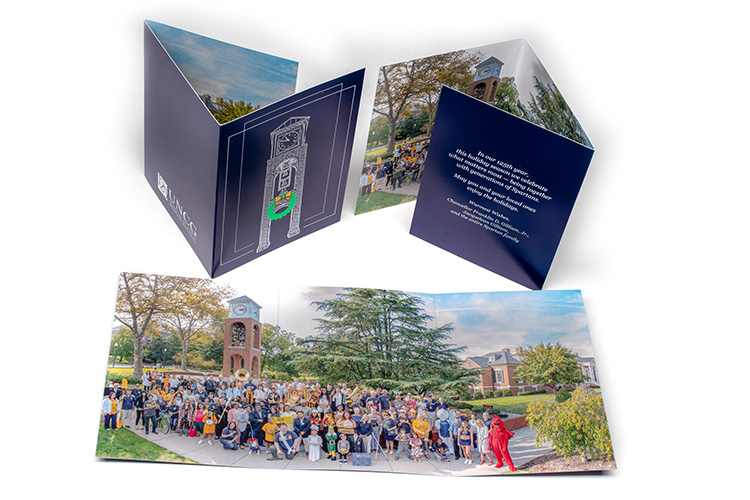 photo of Holiday card for 125th Anniversary year