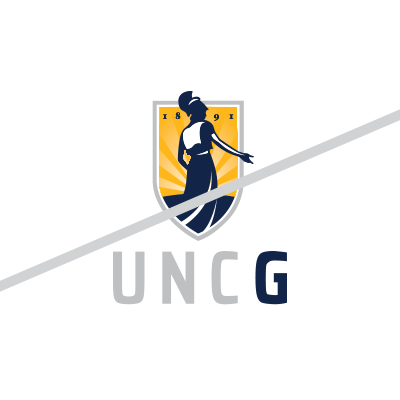 UNCG Unacceptable logo usage example
