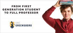 From First-Gen to Full Professor billboard ad