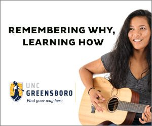Remembering Why, Learning How UNCG ad