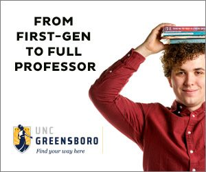 From First-Gen to Full Professor online ad